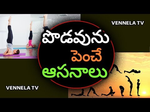 Yoga Asanas For Children To Grow Height | Yoga Asanas For Height | Latest Health News | Vennela TV