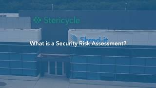 12.What is a Security Risk Assessment?