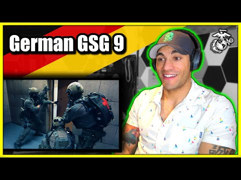Marine reacts to the German GSG 9