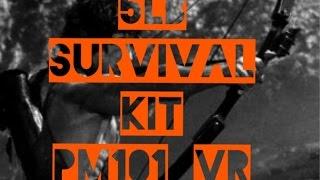 Five Pound Survival Kit (2.26kg) - Preparedmind101 (Smashed it)