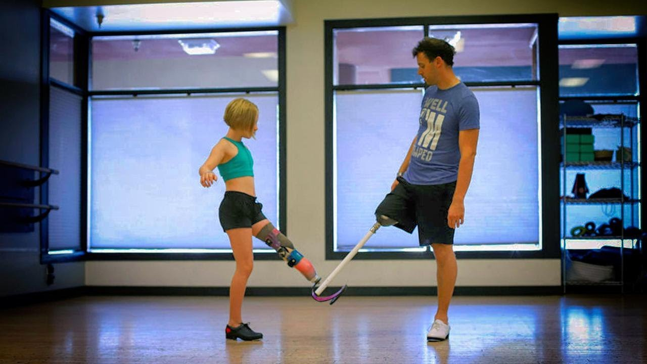 11-Year-Old Amputee Gets Dance Lessons From Her Idol