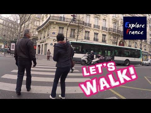 Avenue Victor Hugo (Paris) | Walk Tour HD