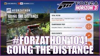 Forza Horizon 3 #FORZATHON 104: Going the Distance!