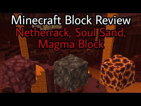 minecraft-block-review- -netherrack,-soul-sand,-magma-block- -#2