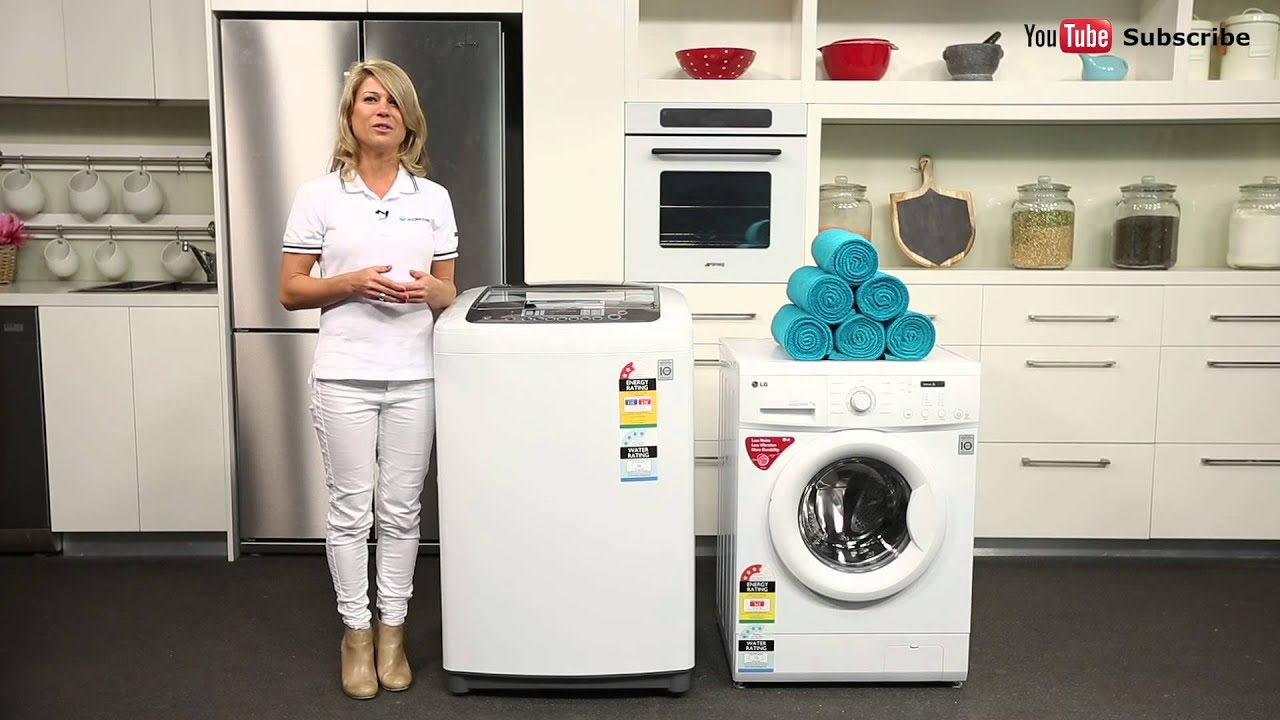 Best Top Loading Washing Machine >> Which washing machine is right for me Difference between top and front loaders? - YouTube