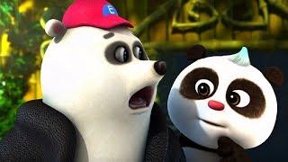 Кротик и Панда - Три медведя   - серия 15 - развивающий мультфильм для детей - о спорте