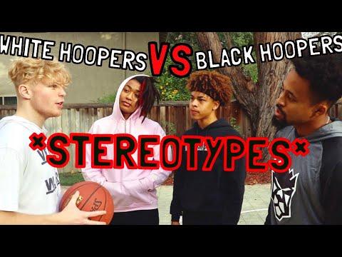 White Hoopers VS Black Hoopers