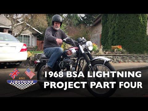 1968 BSA A65