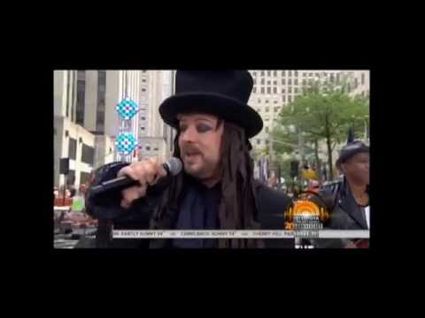 Culture Club On the Today Show in full