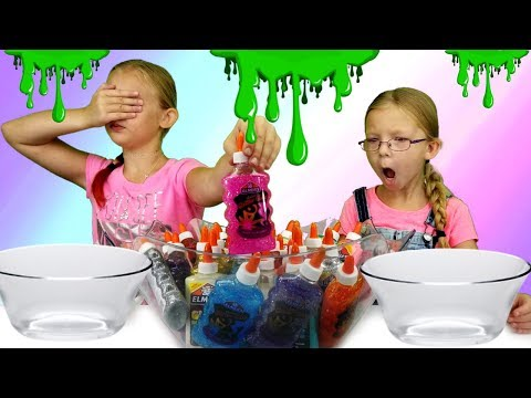 3 COLORS OF GLUE SLIME CHALLENGE!!! - Magic Box Toys Collector