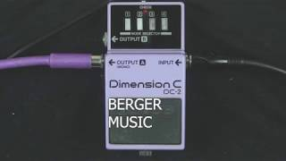 Boss Dimension C DC-2 pedal demo