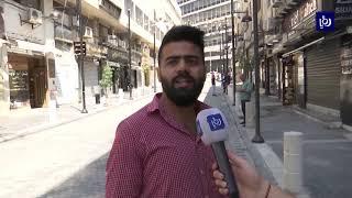 إنجاز مشروع إعادة تأهيل شارع الأمير غازي في وسط البلد - (14-6-2019)