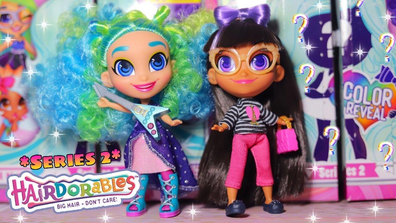 Hairdorables Series 2 Dolls Color Reveal Surprise