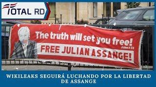WikiLeaks seguirá luchando por la libertad de Assange