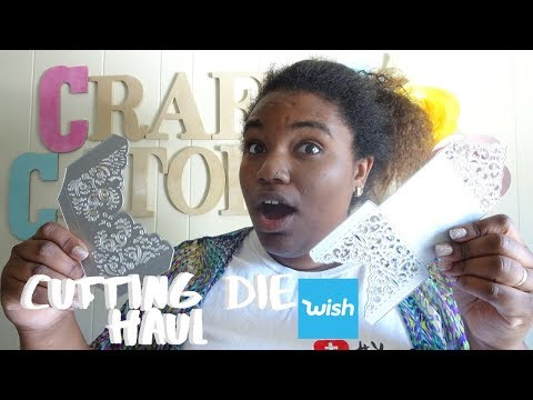 CUTTING DIE HAUL DE WISH|CRAFTCATOLICO