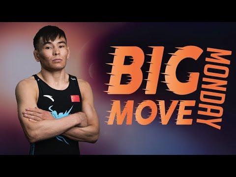 Big Move Monday -- WALIHAN S. (CHN) -- 2018 Senior World C'ships