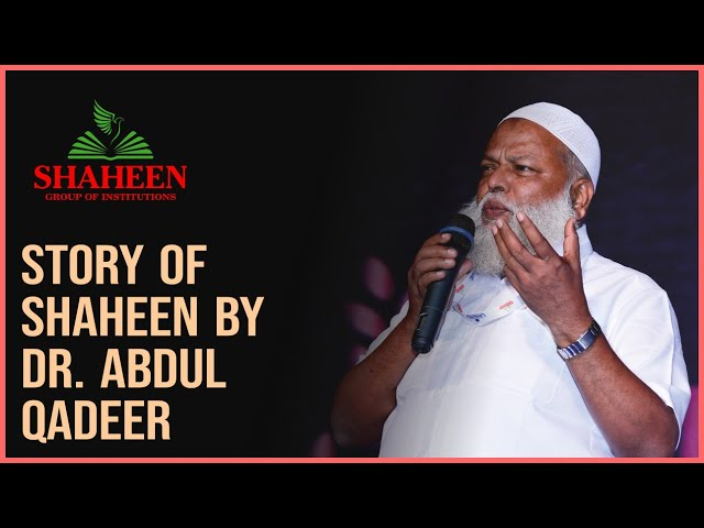 STORY OF SHAHEEN BY DR. ABDUL QADEER