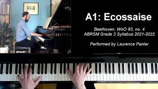 A:1 Ecossaise in Eb (ABRSM Grade 3 piano, 2021-2022 syllabus)