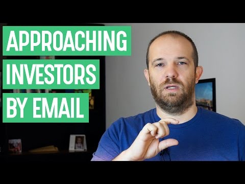 How do I approach an angel investor by e-mail? - Bobby's Minute, ep. 83