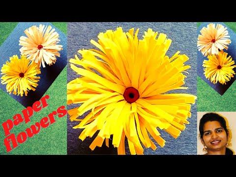 how-to-make-paper-flowers-in-very-easy-way-|-వరలక్ష్మి-పూజ-అలంకరణ-|-varalaxmi-pooja-decoration-ideas
