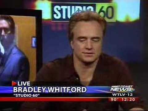 Matthew Perry and Bradley Whitford on Studio 60 Press Junket