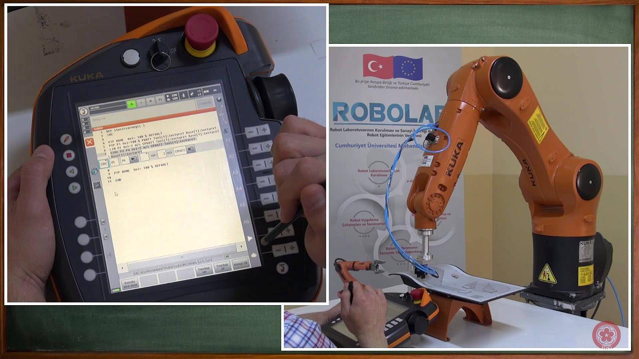 ROBOT PROGRAMLAMA BÖLÜM 10 UYGULAMA