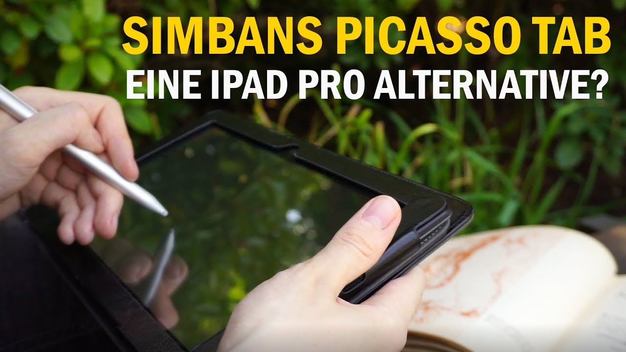 Simbans Picasso Tab 10 Review - Tablet + Pen Display - Die IPad Pro Alternative?