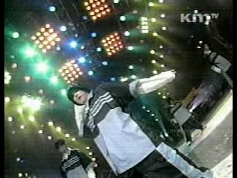 [Shinhwa 1st] 1998 KMTV ShowTank - Hae Gyul Sa (Blue Stripes)