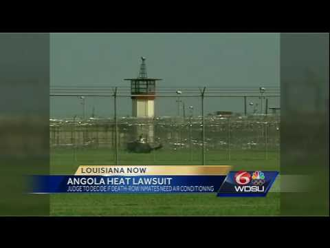 Judge to decide if Angola death-row inmates need air conditioning