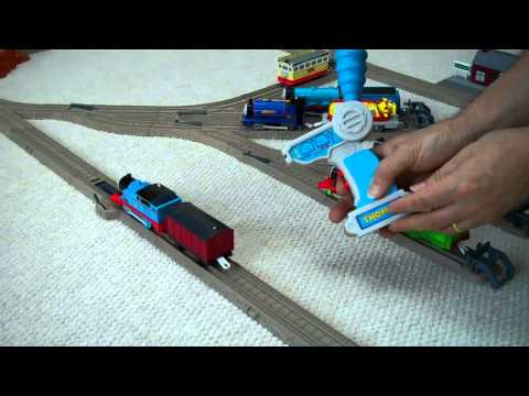Thomas The Tank Trackmaster REMOTE CONTROL THOMAS & Friends by Fisher Price Kids Toy Train set