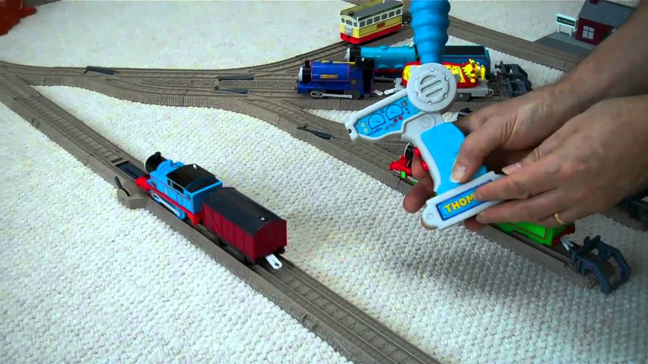 thomas the tank trackmaster remote control thomas. Black Bedroom Furniture Sets. Home Design Ideas