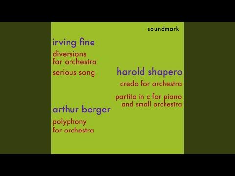 Shapero - Credo For Orchestra
