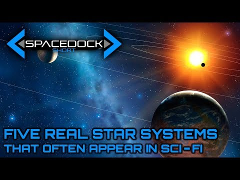 Five Real Star Systems That Often Appear in Sci-Fi