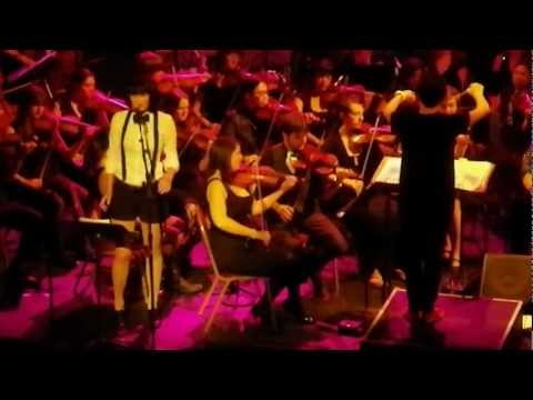 Seattle Rock Orchestra and Tamara Power-Drutis performing The Beatles' Here, There, and Everywhere