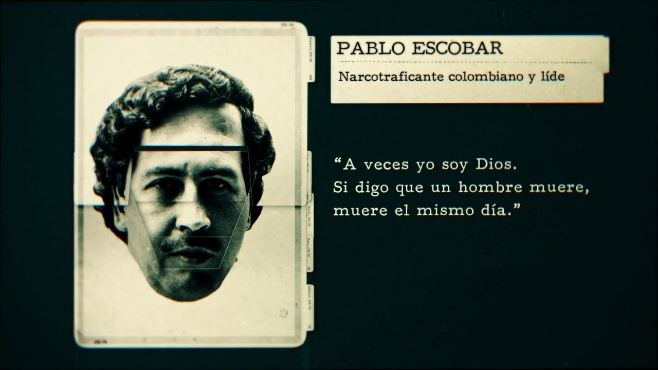 Souvent DISCOVERY ID - Phrases - PABLO ESCOBAR - YouTube WE94