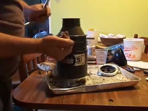 Badger 5 garbage disposal leaking from bottom part 1, look at part ...