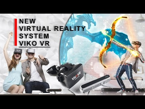 New virtual reality system - Vico VR. NEXT IDEA new tech vr controller