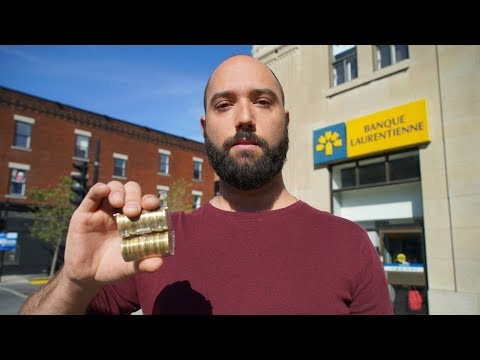 Bank Won't Deposit $800 In Coins From Montreal Man