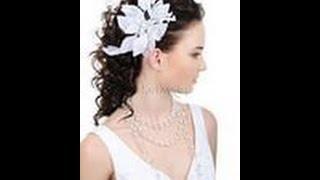 Шикарная свадебная прическа_Укладка волос
