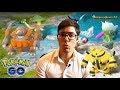 Pokemon Go : Actu Février. Evolution Rhinoféros, Élektek et Rosélia