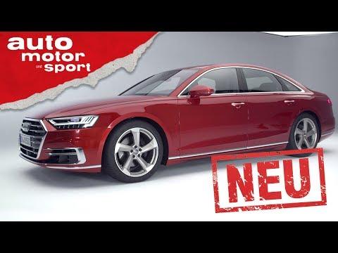 Audi A8 – Neuvorstellung / Test / Review | auto motor und sport