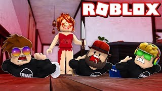 ESCAPE AND SURVIVE THE RED DRESS GIRL in ROBLOX