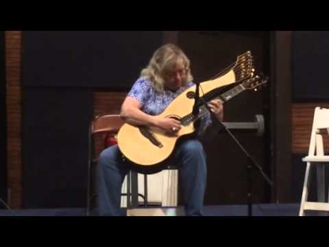 I began playing harp guitar in 2014.  This was at the Swannanoa Gathering in Aug., 2014.