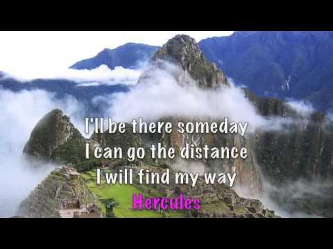 Go The Distance lyrics Michael Bolton