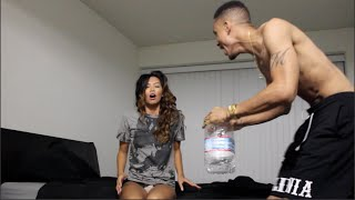Getting Her Wet Prank