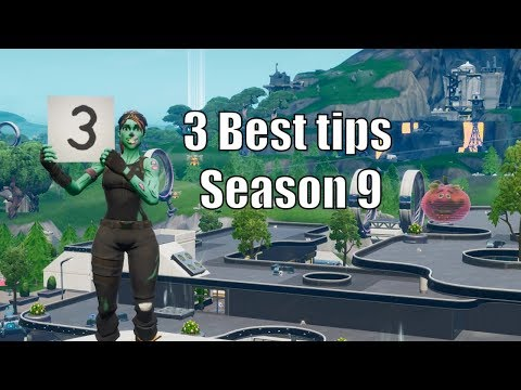 3 Best Building and Editing Tricks In Season 9 Fortnite! (Advanced Building Strategies) Pc/Console