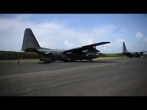 Air Commandos transport Jamaican soldiers, civilian disaster response workers to Dominica