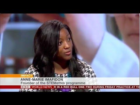 Stemettes on BBC World News