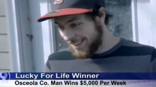 "KCAU News Coverage of $5,000 A Week ""Forever"" Prize Winner, Ryan Hart!"
