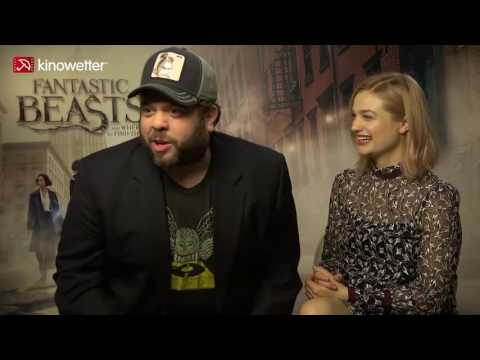 Interview Dan Fogler & Alison Sudol FANTASTIC BEASTS AND WHERE TO FIND THEM